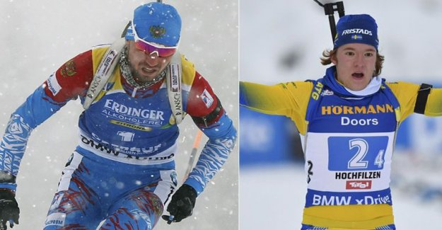 Sebastian Samuelsson to the attack on the Russian the winner