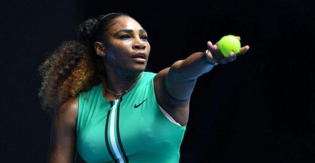 Serena Williams easily made it through – has started rekordjakten