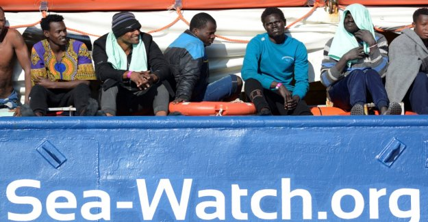 Seven EU member States agree on the inclusion of Sea-Watch-refugees
