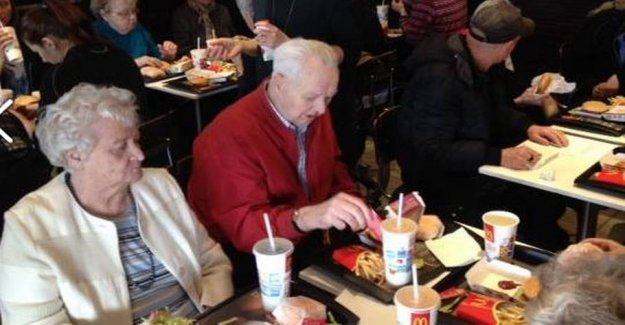Shame on you: the Whole of the nursing home, got McDonalds food