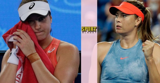 Sharapova too difficult for Peterson