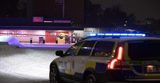 Shootings in the Ica store in Järfälla