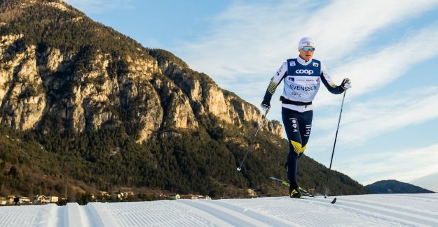 Sick Svensson cancels the Tour de Ski