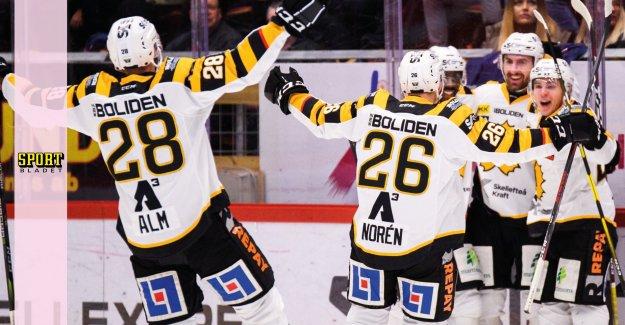 Skellefteå beat Timrå in the målkalas – hooks on the top sides