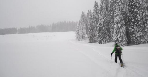 Skiers and avalanche risk: It always remains a residual risk