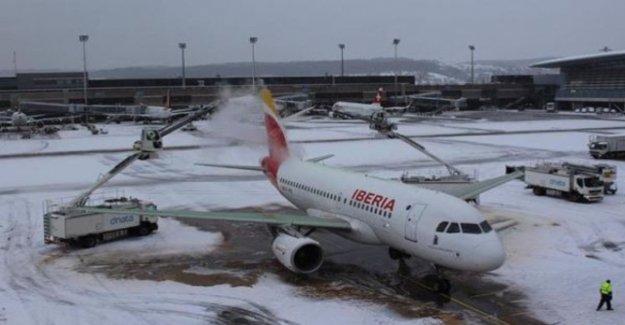 Snow affects air traffic in Zurich, Munich and Innsbruck