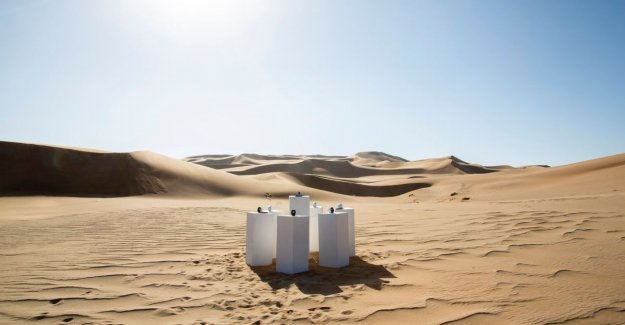 Somewhere in the Namibian desert is 'Africa' by Toto at ultimate repeat