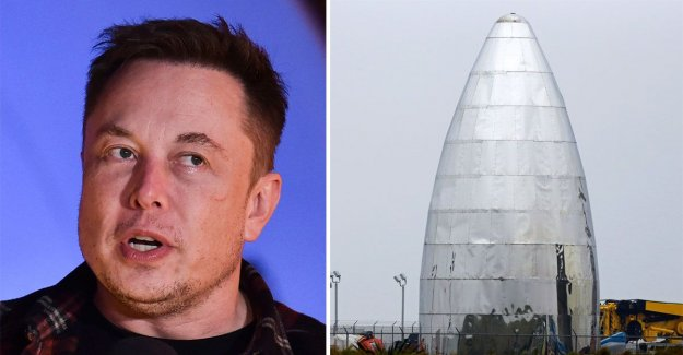 Space X spaceship soon raring to go