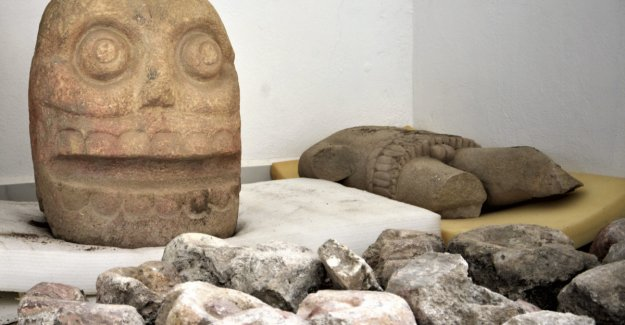 Spectacular discovery in Mexico: Priests fleeced victims and wore on their skin
