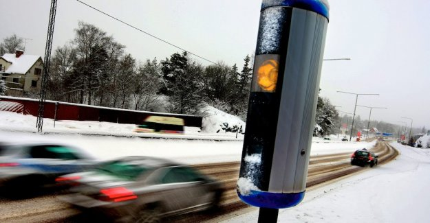 Speed cameras in Luleå blown to bits