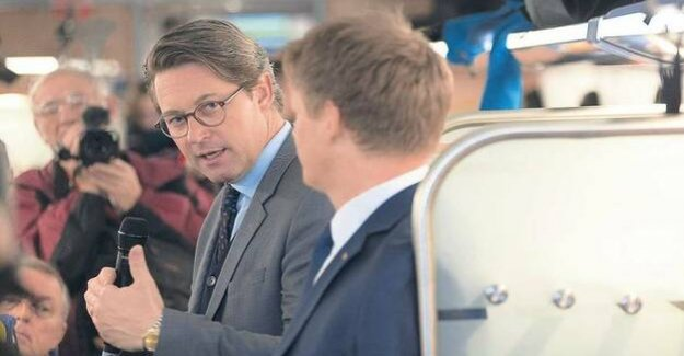 Speed limit, oxides of nitrogen, train : Where is transport Minister Andreas Scheuer?
