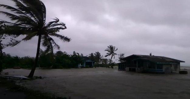 Storm Pabuk has reached Thailand