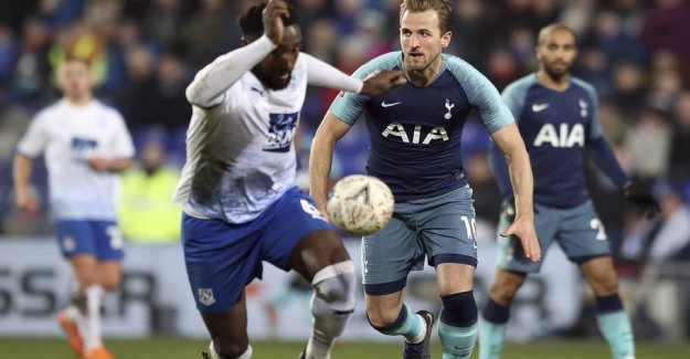 Strangely, the Spurs show: Therefore came Kane on the pitch by 6-0