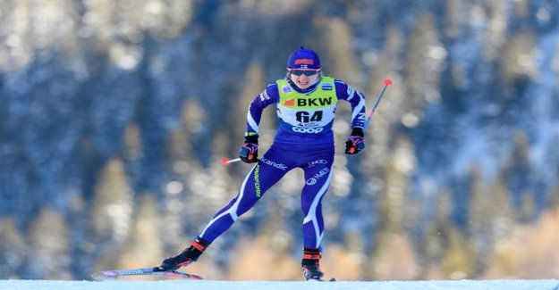 Strider, you were left behind! Eveliina Piippo, 20, skied to victory in the Finnish cup in Vantaa