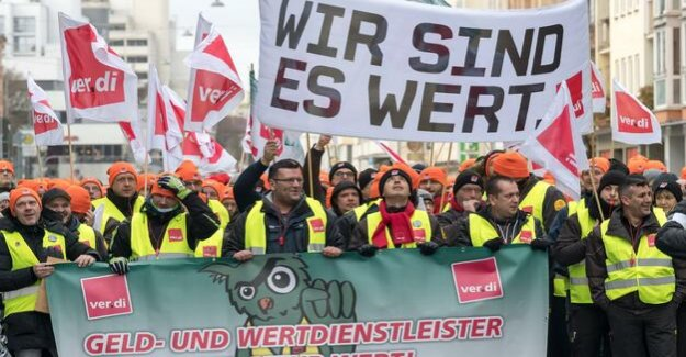 Strike ends : Verdi achieved significant wage increase for cash-in-transit services