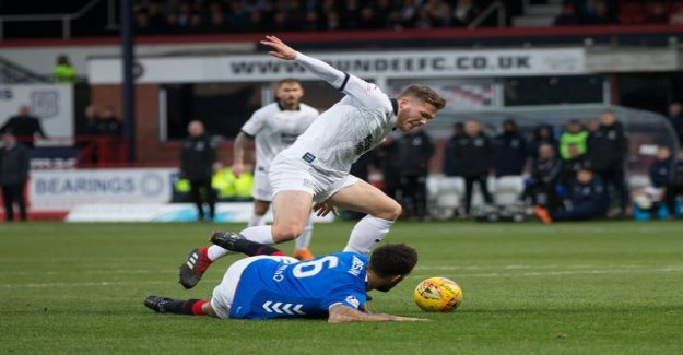 Striker promises Benjamin Kállmán changed the landscape of Scotland-the trip was difficult: it wasn't exactly as I would have liked to