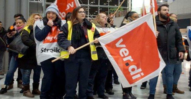 Strikes at airports : Verdi in the criticism