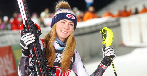 Superior Shiffrin. The best Norwegian on the 19.-space