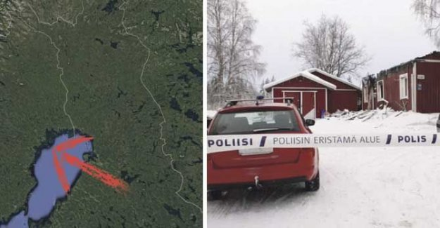 Suspected killer of the kidnapped woman, fled to Sweden