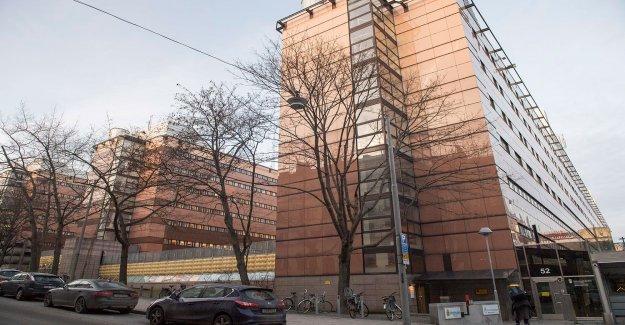 Suspicious object on the Kronobergshäktet – bombskyddet on the spot