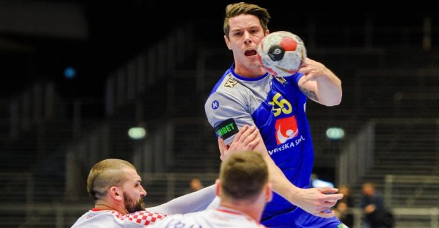 Sweden fifth in the world CHAMPIONSHIP after victory against Croatia