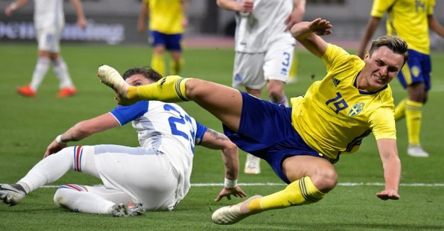 Sweden lost the victory in stoppage time