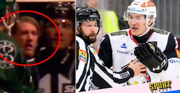 Sylvegårds judgment after the fight in the spelargången
