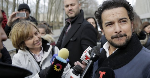 TV star appeared during the trial of El Chapo: - Surreal