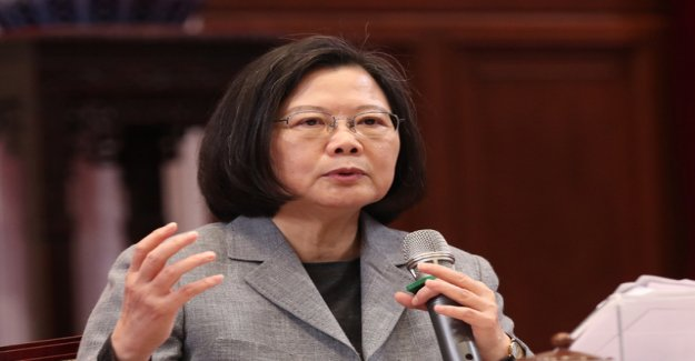 Taiwan calls for support in the conflict with China
