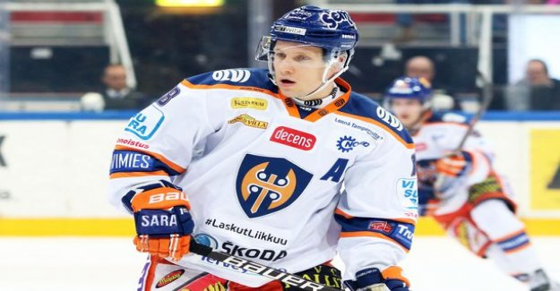 Tappara-old hand push the opponent's head the ugly side of the three - game ban, the jury did not make any