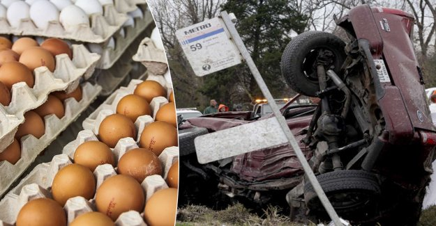 Teen tossed eggs, run the risk of jail