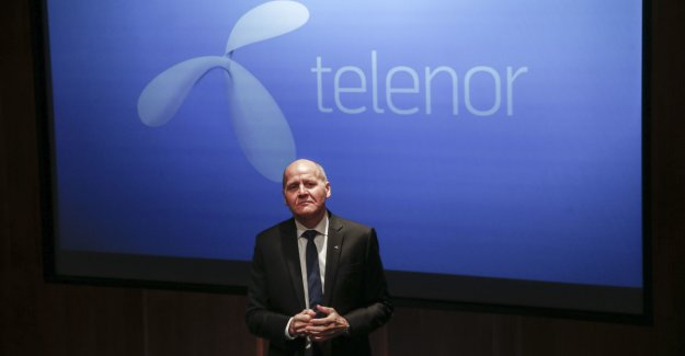Telenor bisector of the bottom line