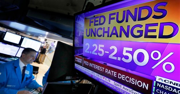 The Fed is leaving the u.s. the key interest rate untouched