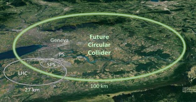 The LHC and the FCC should follow : Cern is planning a huge particle accelerator