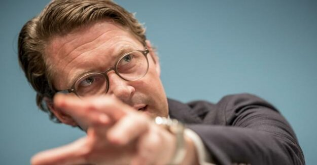 The Minister of transport of air pollution, Scheuer laments masochistic debate about the limits on particulate matter