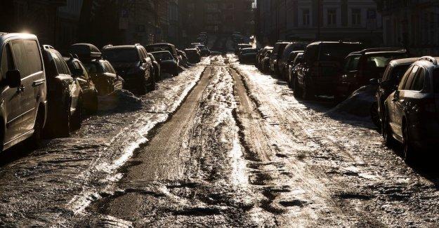 The Risk of sudden ishalka in Stockholm