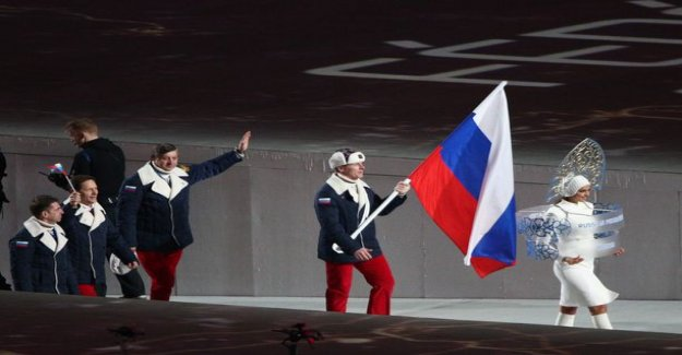 The Russian olympic team's flag carrier busted for doping - two-year competition ban