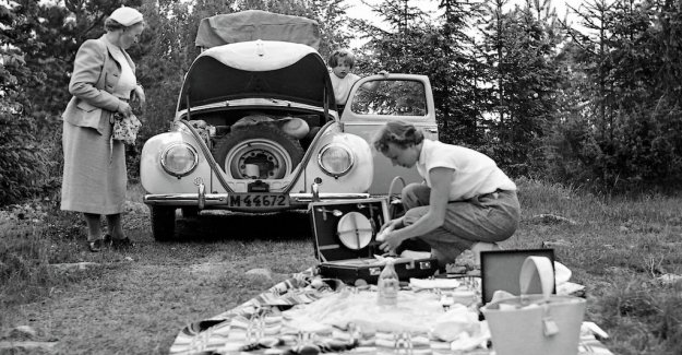 The Volkswagen has 70 years of history, as a car brand in Sweden