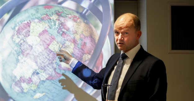 The confederation of Norwegian enterprise the blind spot information system