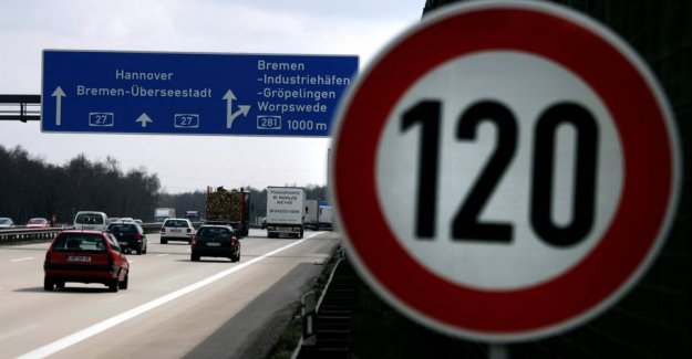The germans will introduce the speed limit on the Autobahn