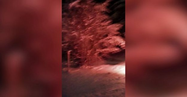 The horror of cluttered in the new year atmosphere of the iron danger – Video: fireworks casserole hurled the rockets in the series with fire in every direction