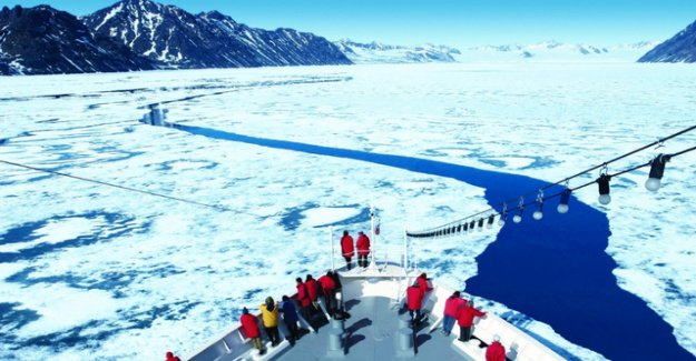 The ice in the Antarctic is melting faster and faster,