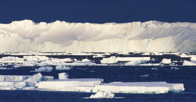 The ice is melting six times faster
