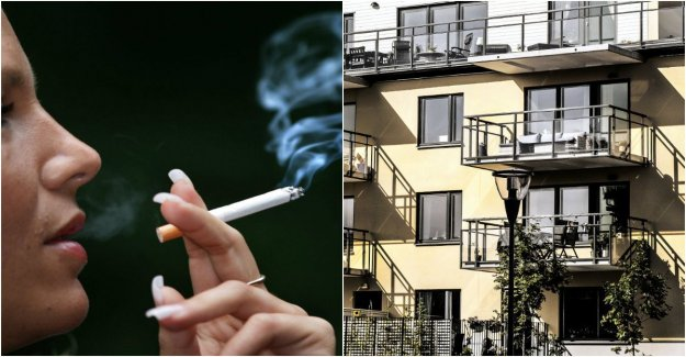 The landlord before the smoking ban – both in and outside the home