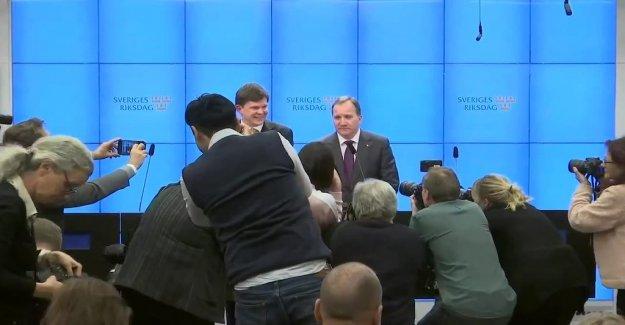 The president nominates Stefan Löfven