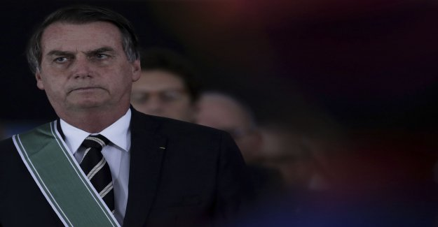 The president of brazil eases at law