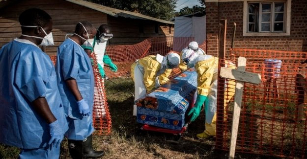 The second most serious Ebola outbreak in the history