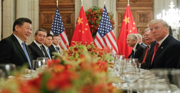 The united states and China meet for the new handelssamtal
