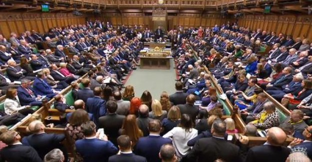 The vote in the lower house: Brexit agreement fails to clear