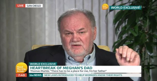 Thomas Markle compare destiny axe murderers: Their daughter came to christ in jail to greet his father
